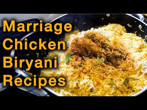 How to make Chicken Biryani | Muslim biryani | Home made briyani