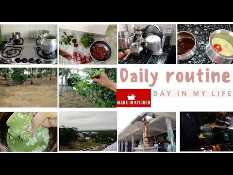 Daily routine in Tamil | A day in my life | Make In Kitchen