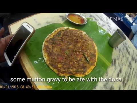Mutton Dosai In Madurai | local food  | food vlog | Madurai Food Vlog | Tamil Food
