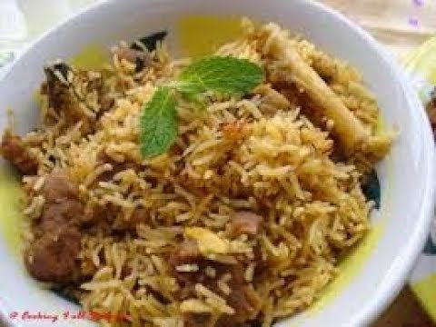 how to make  mutton biryani in tamil