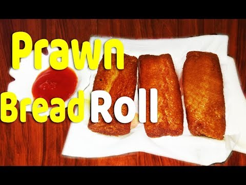 prawn bread roll in Tamil | iraal bread roll in tamil | kids special