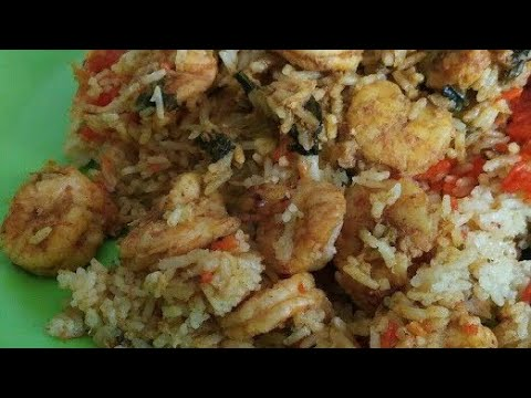 Prawn Biryani Recipe | Eral Biryani seivathu Eppadi | How to make Prawn Biryani in Tamil