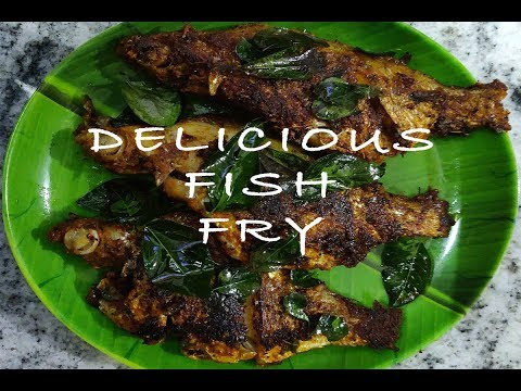 Delicious Fish Fry Recipe | Fish Fry in Tamil