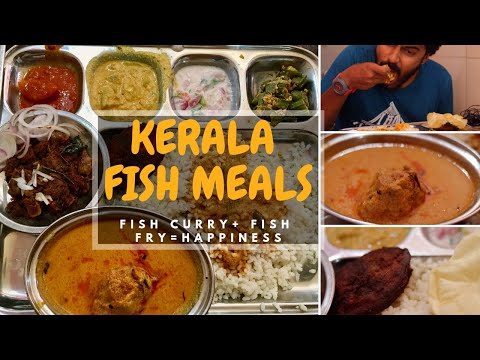 KERALA FISH MEALS - YUMMY FISH CURRY + FISH FRY - TAMIL VLOGS