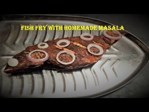 FISH FRY WITH HOME MADE MASALA-TAMIL