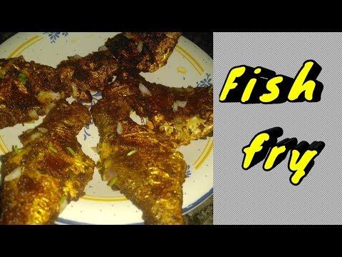 Fish fry/Fish fry in tamil/ மீன் வறுவல்