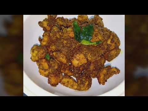 Pepper chicken fry | Tamil | Homemade happiness by Sandhiya