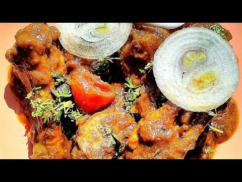 Country chicken fry with English subtitles/Chicken curry recipe in Tamil