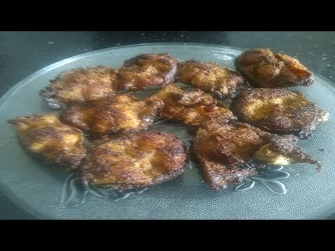Keluthi meen fry | Catfish fry Indian recipe | chettinad fish fry masala