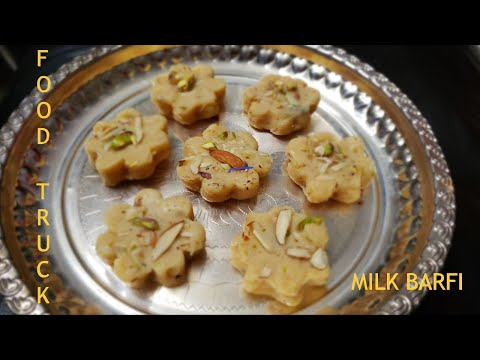 Instant Milk Powder Burfi (Peda) in 3 Minutes | Milk Sweet - Tamil | பால் கோவா - Food Truck