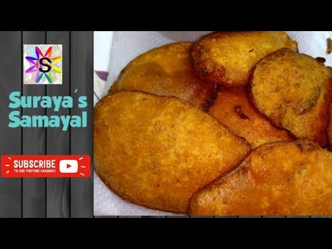 potato bajji recipe in tamil || orulaikilangu bajji method in tamil