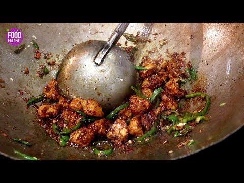 Chilli Chicken Restaurant Style In Just 2 Minutes | Easy Chili Chicken Gravy Indian Street Food