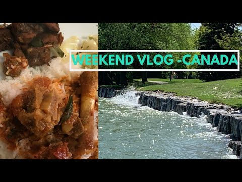 Canada | Weekend Vlog | Saturday menu & Outing | Tamil Vlog | Mutton curry & Mutton chukka