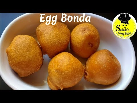 முட்டை போண்டா ||  Egg Bonda  ||  Muttai Bonda ||  Egg Recipes in Tamil