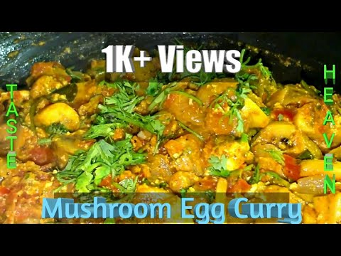 Simple Mushroom Egg curry recipe | mushroom Egg masala recipe  By Jai Padhu