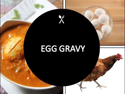 Egg Gravy | Tamil Recipe | Kannamma Kitchen