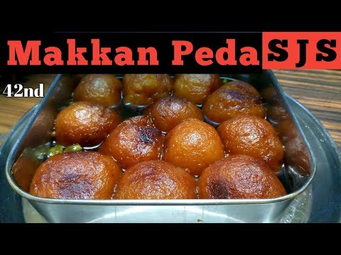 Makkan Peda in Tamil | Arcot sweet | How to prepare Makkan Peda | Sri Jaya Samayal | Episode - 42