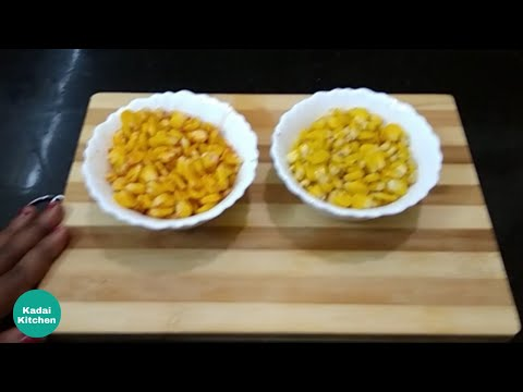 Street Food Sweet Corn | Pepper Corn and Masala Corn recipe in Tamil