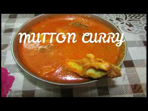 Mutton curry in tamil/Aloo mutton curry/mutton kuzhambu