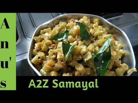 Beans poriyal recipe in tamil/Beans poriyal step by step method