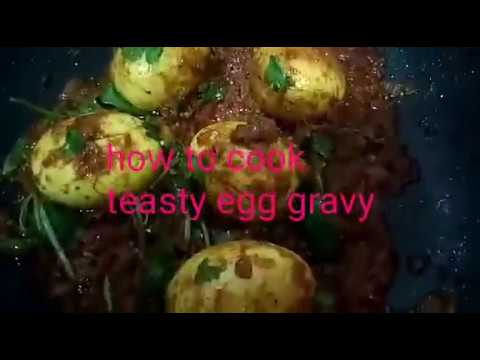 Teasty egg gravy recipe in Tamil/ The hunger cook