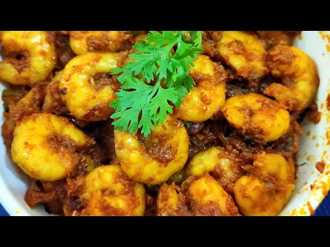 PEPPER PRAWN FRY IN TAMIL | இறால் வறுவல் | KITCHEN QUEEN