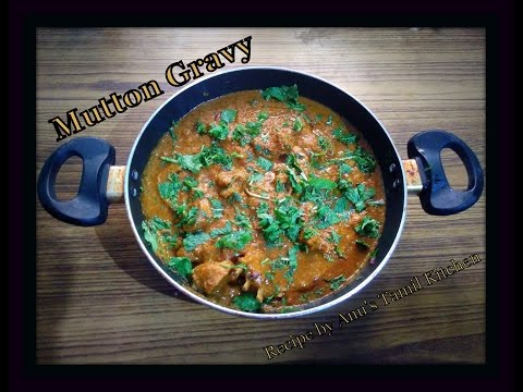 Mutton Gravy/Curry Recipe (Tamil) | Anu's Tamil Kitchen