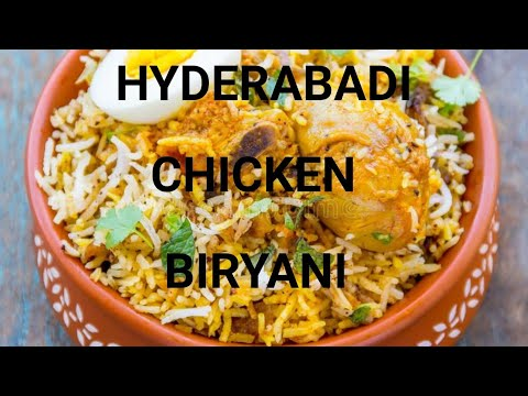 Hyderabadi or Hyderabad Chicken Biryani recipe in tamil /Chicken biriyani  /ஹைதெராபாத் பிரியாணி
