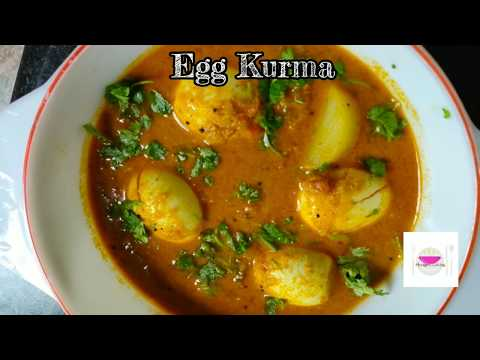 Egg Kurma | Muttai Kurma | Muttai Kuzhambu Recipe in tamil