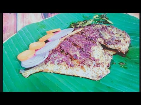Pomfret fish fry/ Tawa fish fry/ Fish fry in Tamil/ fish recipes