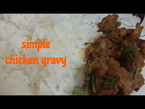 Simple chicken gravy|Tamil