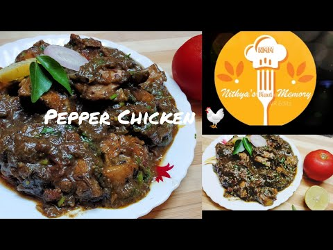 Pepper Chicken Recipe | Pepper Chicken Gravy | Indian Style | Tamil
