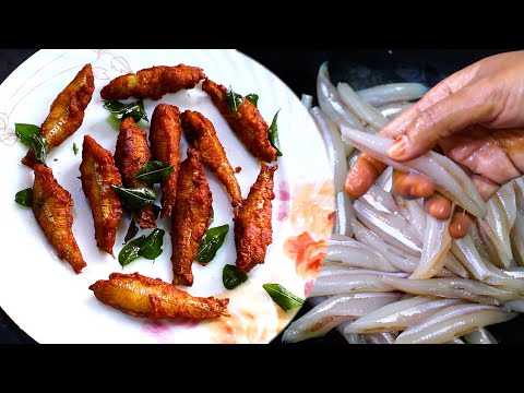 Fish Fry in Tamil | Meen Varuval Recipe in Tamil | Fish Masala Recipe in Tamil |நெத்திலி மீன் வறுவல்