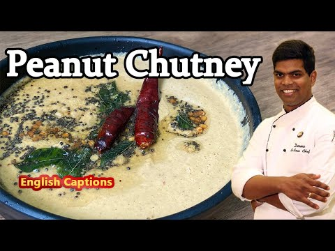 வேர்க்கடலை சட்னி | Breakfast Groundnut/ Peanut Chutney in Tamil | CDK #225 | Chef Deena's Kitchen