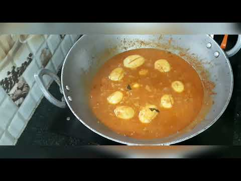 Muttai kulambu in Tamil/Egg gravy in Tamil/Egg curry  Tamil/how to make easy tasty egg gravy inTamil