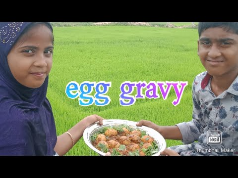 Egg masala gravy recipe in tamil 👌/ hotel style egg masala gravy  by rifaya honey kitchen