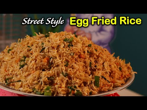 Street Style Egg Fried Rice At Home in Tamil | Very Easy Method | Jabbar Bhai