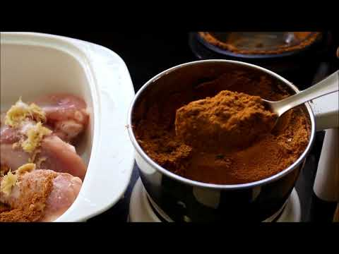 Mutton masala powder recipe in Tamil - Chicken dry fry with homemade curry masala