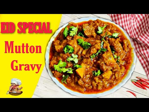 EID SPECIAL MUTTON GRAVY |MUTTON MASALA GRAVY IN TAMIL