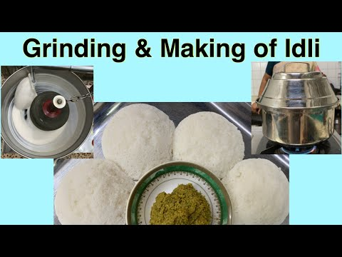 Grinding & Making of soft Idli by Revathy Shanmugam