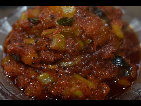 Mango Pickle/ Mangai oorukai/ Pickle recipe in Tamil