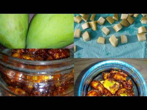 இனிப்பு மாங்காய் ஊறுகாய் | Inippu Mangai Oorugai Recipe in Tamil|Sweet Mango Pickle|Homemade Pickle
