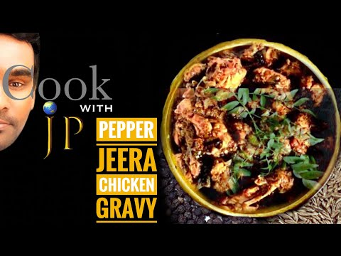 Pepper Jeera chicken gravy in Tamil spicy 🌶 how to make pepper jeera chicken/ pepper chicken recipe