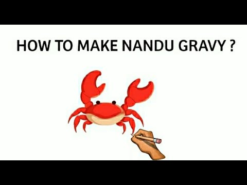 How to make nandu gravy | how to make spicy crab masala | tamil recipes| nandu recipe|tasteofsamayal