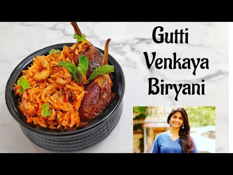 Cook with comali Kani Gutti Venkaya Biryani Recipe In Tamil  Cook with Comali Kani Venkaya Biryani