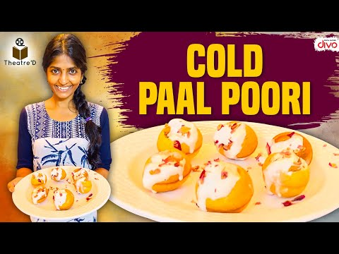 Cold Paal Poori | Cooku With Comali Series | Theatre D