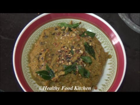 Radish Chutney-Mullangi Thuvaiyal- Chutney Recipe By Healthy Food Kitchen