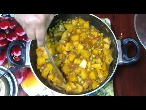 potato matter masala recipe in tamil | Chennai Samayal | recipe in Tamil