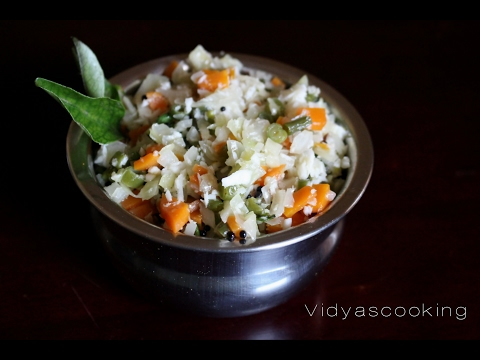 Mixed Vegetable Poriyal Recipe