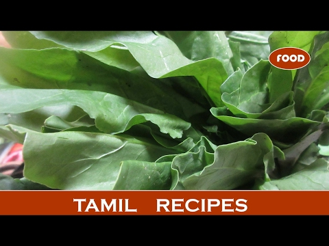 Aaloo Palak dry recipe in tamil |  palak Potato recipe | recipes @ indian street food